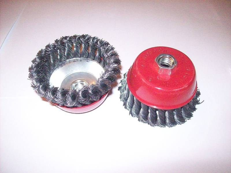 Wire Wheel Cup Brush Angle Grinder