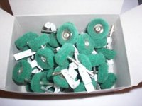 36 ABRASIVE 1 SCOTCH BRITE WHEELS FITS DREMEL MC13