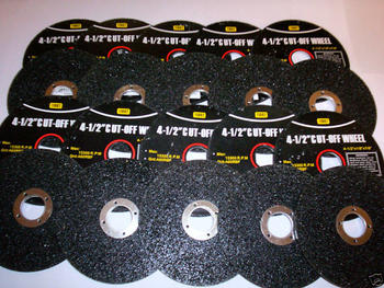 20 4-1/2 CUT-OFF WHEELS 7/8 ARBOR CHEAP