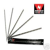 5pc 12 EXTRA LONG HIGH SPEED STEEL DRILL BIT SET