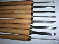 8pc Professional Wood Lathe Chisel Turning Set