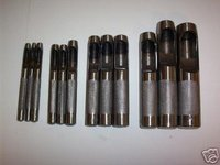 12pc HOLLOW PUNCH SET FOR LEATHER & GASKET WORK