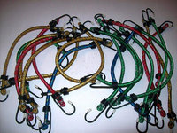 20 BUNGEE CORD TIE DOWN STRAPS MULTI COLOR 12 LONG