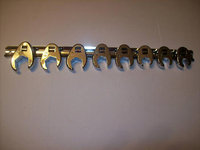 8pc CALHAWK FLARE NUT CROWFOOT WRENCH SET METRIC
