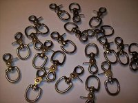 20pcs 3/4 TRIGGER SNAP SWIVEL ALLOY STEEL NICKEL CZTS6