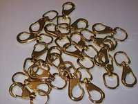 20pcs #3 FAST SWIVEL SNAPS ALLOY STEEL BRASS CZSS3FS