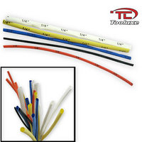 110pc TOOLUXE HEATSHRINK TUBING ASSORTED SIZE WIRE WRAP