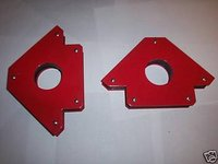 2 ARROW WELDING MAGNETS HOLDER 75 LB STRENGTH 75LB