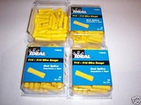 200 IDEAL BUTT SPLICE WIRE CONNECTORS VINYL YELLOW