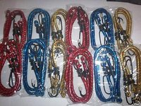 24pc BUNGEE CORD TIE DOWN STRAP ASSORTMENT 12 18 24