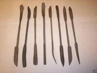 8pc JUMBO 10 WOOD RASP RIFFLER FILE SET DOUBLE ENDED