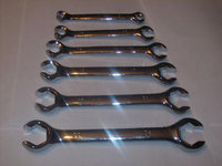 6pc CALHAWK PRO FLARE NUT LINE WRENCH SET METRIC
