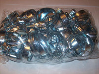 50 CALHAWK HOSE CLAMPS 1---2 SCREW TYPE WORM CAPAHC24