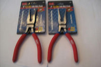 2 MIT INDUSTRIAL 8 FLEX GRIP LONG NEEDLE NOSE PLIERS 35073