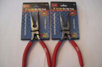 2 MIT INDUSTRIAL 8 FLEX GRIP BENT NOSE PLIERS 35075